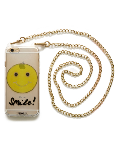 [IPHORIA] cross chain smile caseiPhone 6S/6