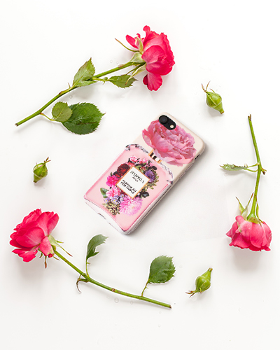 [IPHORIA] flower bouqiet caseiPhone 8+/7+