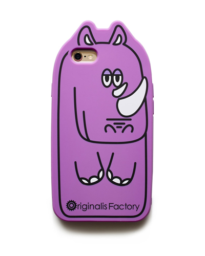 [O.FACTORY] purple rhino caseiPhone 6S/6
