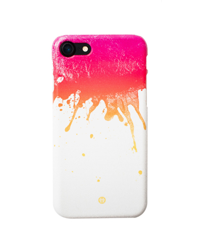 [MADOTTA] pink ink blots caseiPhone 8/7