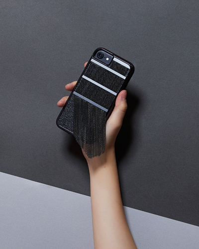 [CASE.MATE] fringed metal black caseiPhone 7/6S/6