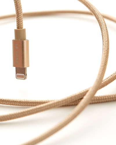 [LE CORD] USB charge solid gold cable&nbsp