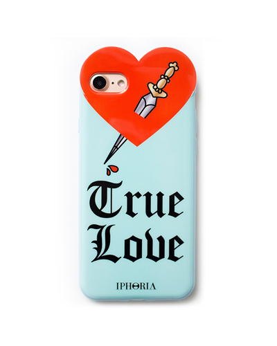 [IPHORIA] heart true love blue case iPhone 8/7
