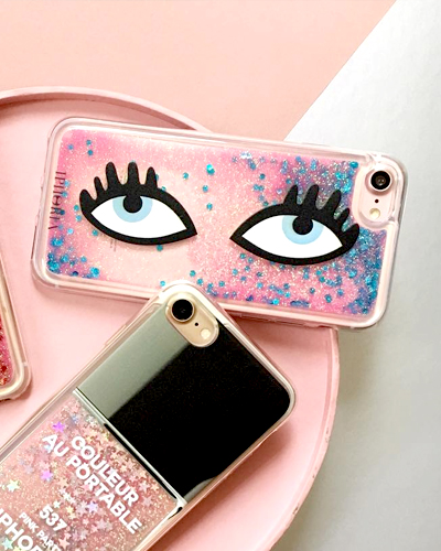 [IPHORIA] see you glitter caseiPhone 8/7