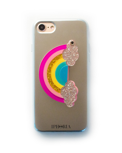 [IPHORIA] rainbow mirror caseiPhone 8/7