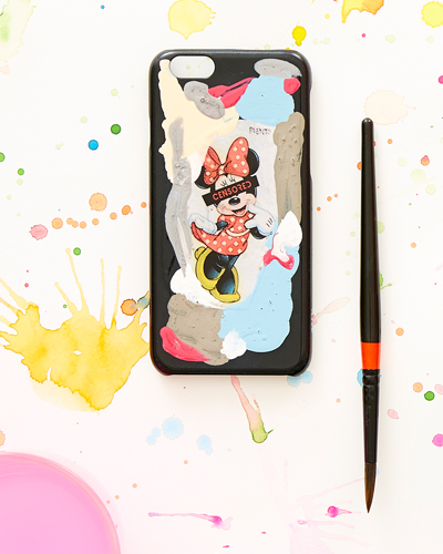 [2ME STYLE] mickey mouse censored caseiPhone 8/7