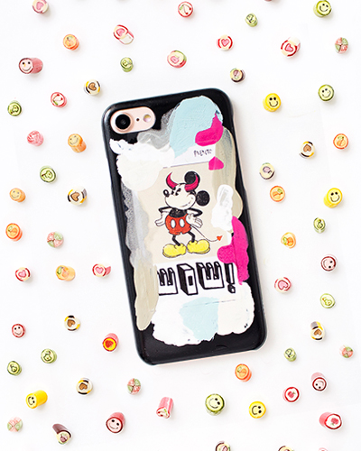 [2ME STYLE] mickey mouse wow caseiPhone 8/7