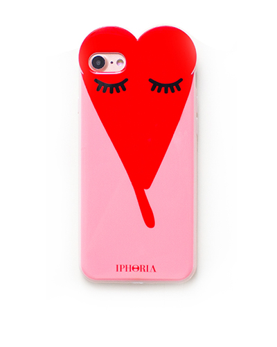 [IPHORIA] sleeping red heart case iPhone 8/7
